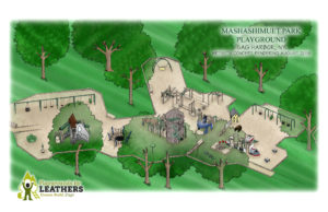 Detailed draft design of the new playground